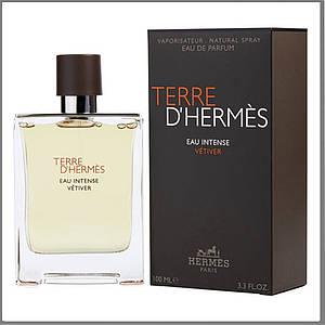 Hermes Terre d'Hermes Eau Intense Vetiver парфюмированная вода 100 ml. (Терра Д'Гермес Еау Интенс Ветивер)