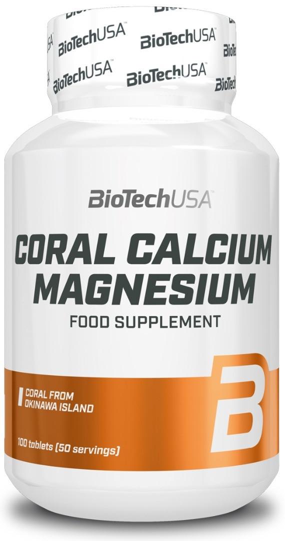 Coral Calcium + Magnesium BioTech 100 таблеток