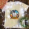 Мужская футболка с принтом - PUBG