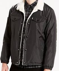 Зимняя куртка Levis Trucker Sherpa - Slick Grafite Nylon
