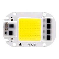 Светодиодная матрица с драйвером COB LED 50Вт 4500лм 220В, белая