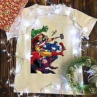 Мужская футболка с принтом - Marvel (Avengers), фото 1