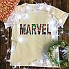 Мужская футболка с принтом - Marvel
