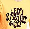 Мужская футболка Levi's® Graphic Tee - Golden Yellow, фото 2