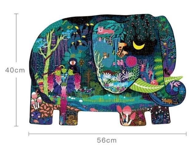 Пазл - гігант Слон мрії