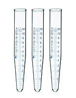 Пробірка 10мл скляна, центрифужна