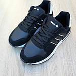 Мужские кроссовки Adidas ZX 500 RM (черно-белые), фото 2