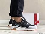 Мужские кроссовки New Balance 1500 ВЕЛИКОБРИТАНИЯ (черно-серые с мятой) 9109, фото 2