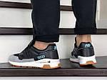 Мужские кроссовки New Balance 1500 ВЕЛИКОБРИТАНИЯ (черно-серые с мятой) 9109, фото 3