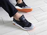 Мужские кроссовки New Balance 1500 ВЕЛИКОБРИТАНИЯ (черно-серые с мятой) 9109, фото 5