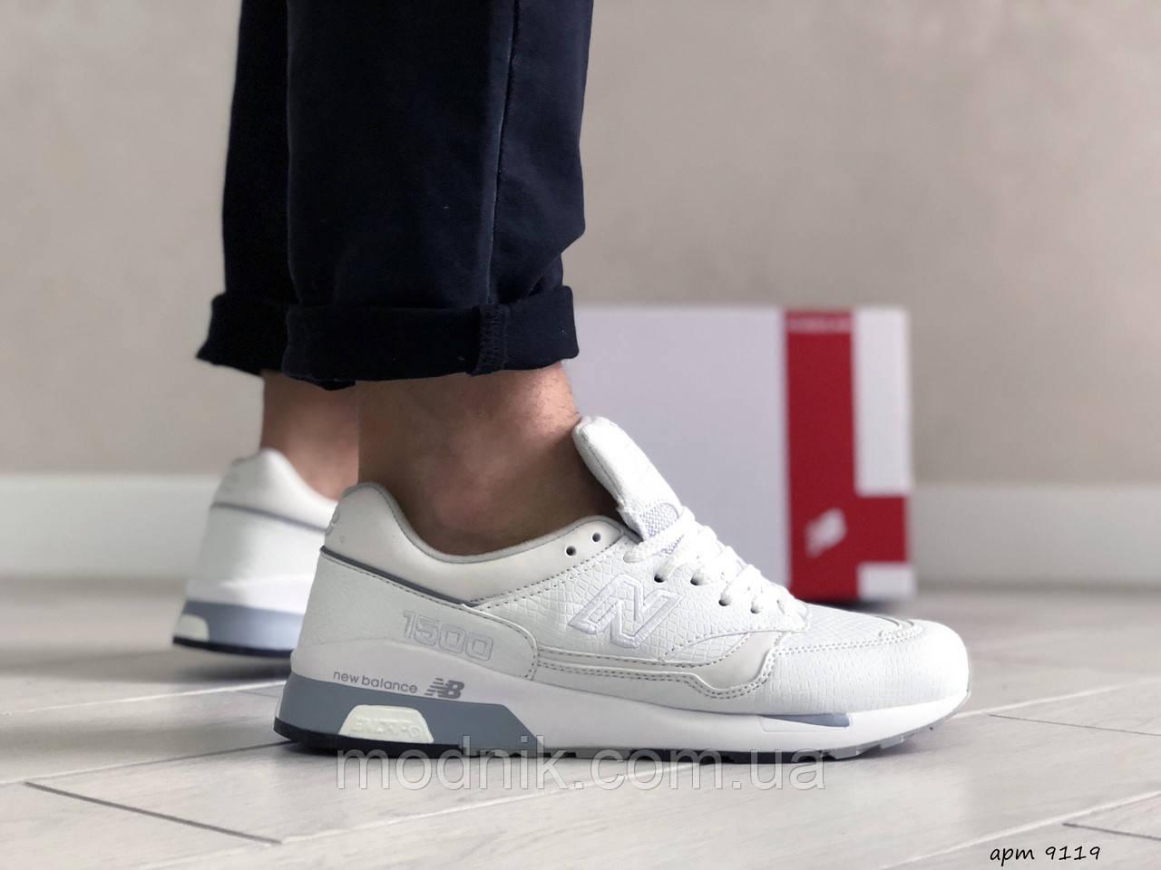 Мужские кроссовки New Balance 1500 ВЕЛИКОБРИТАНИЯ (белые) 9119