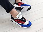 Мужские кроссовки New Balance 1500 ВЕЛИКОБРИТАНИЯ (красно-синие) 9121, фото 4