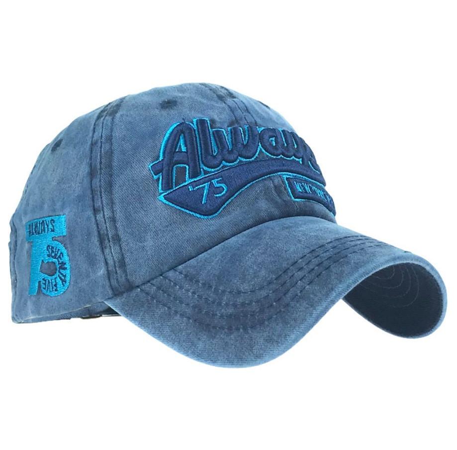 Бейсболка Always New York синяя