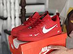 Женские кроссовки Nike Air Force (красные) 9100, фото 4