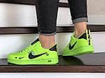 Женские кроссовки Nike Air Force (салатовые) 9102, фото 4