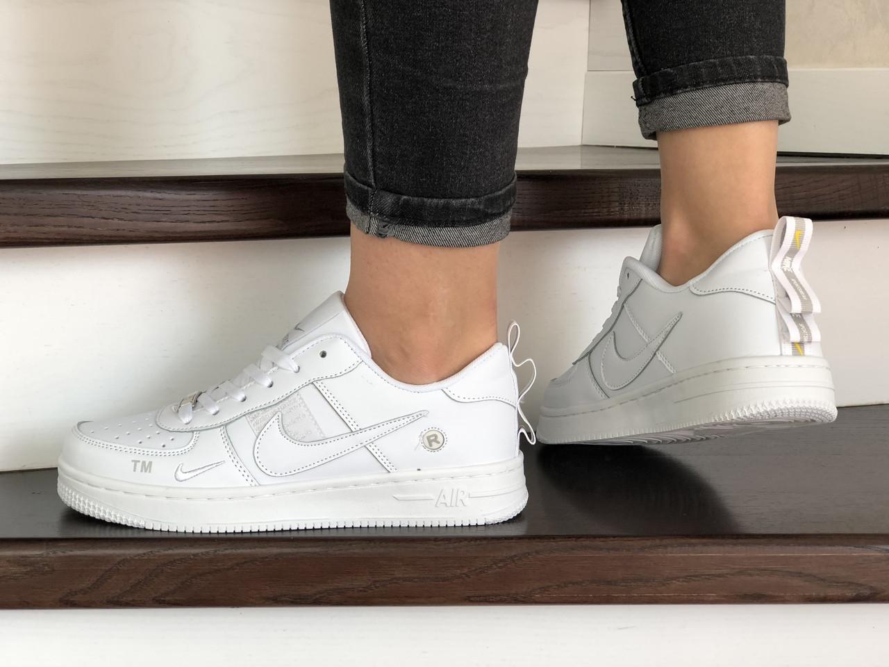 Жіночі кросівки Nike Air Force (білі) 9103