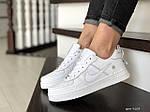 Жіночі кросівки Nike Air Force (білі) 9103, фото 3