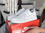 Жіночі кросівки Nike Air Force (білі) 9103, фото 4