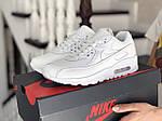 Жіночі кросівки Nike Air Max 90 (білі) 9104, фото 2