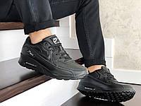 Мужские кроссовки Nike Air Max 90 (черные) 9105
