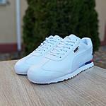 Чоловічі кросівки Puma Roma BMW (білі) 10031, фото 6