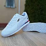 Чоловічі кросівки Puma Roma BMW (білі) 10031, фото 7