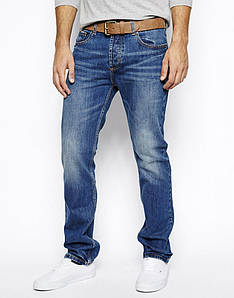 Джинси Bellfield - Slim Fit Blue Wash (мужские джинсы)