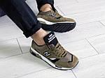 Чоловічі кросівки New Balance 1500 ВЕЛИКОБРИТАНІЯ (темно-зелені) 9108, фото 3