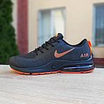 Мужские кроссовки Nike Air Presto (черно-оранжевые) 10030, фото 2