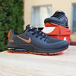 Мужские кроссовки Nike Air Presto (черно-оранжевые) 10030, фото 7