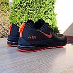 Мужские кроссовки Nike Air Presto (черно-оранжевые) 10030, фото 8