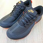 Мужские кроссовки Nike Air Presto (черно-оранжевые) 10030, фото 9