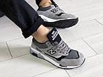 Мужские кроссовки New Balance 1500 ВЕЛИКОБРИТАНИЯ (серые) 9116, фото 4