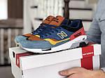 Чоловічі кросівки New Balance 1500 ВЕЛИКОБРИТАНІЯ (синьо-коричневі) 9118, фото 2