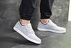 Мужские кроссовки Lacoste (светло-серые) 9126, фото 2