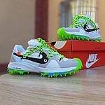 Женские кроссовки Nike Zoom Terra Kiger 5 Off-White (бело-салатовые) 20022, фото 7