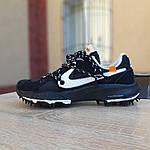 Женские кроссовки Nike Zoom Terra Kiger 5 Off-White (черные) 20021, фото 2