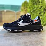 Женские кроссовки Nike Zoom Terra Kiger 5 Off-White (черные) 20021, фото 4