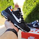 Женские кроссовки Nike Zoom Terra Kiger 5 Off-White (черные) 20021, фото 5