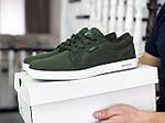 Чоловічі кросівки Lacoste (темно-зелені) 9127, фото 5