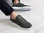 Чоловічі кросівки Lacoste (темно-зелені) 9127, фото 6