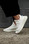 Чоловічі кросівки Adidas Yeezy Boost 350 V2 Triple White (2707), фото 6