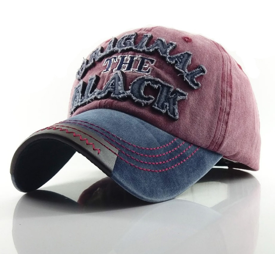 Бейсболка Original Black красная