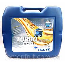 Масло моторное полусинтетическое Neste Turbo LXE 10W30 (API CI-4, CH, CG, CF-4)