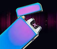 BOX подарочный USB-зажигалка Плазменная электроимпульсная двойная дуга, фото 3