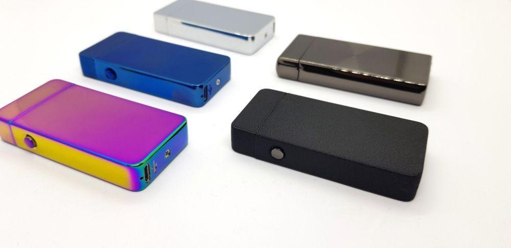 BOX подарочный USB-зажигалка Плазменная электроимпульсная двойная дуга