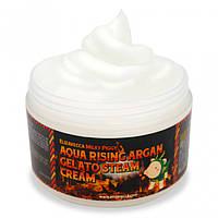 Крем для лица с аргановым маслом Elizavecca Milky Piggy Aqua Rising Argan Gelato Steam Cream(100ml)