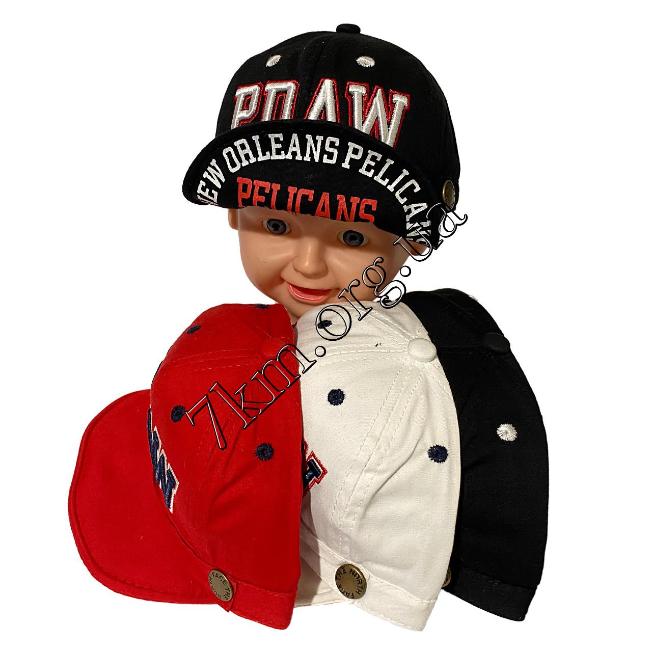 """Кепка детская Оптом хлопок для мальчиков """"Pelicans"""" Китай 8288"""