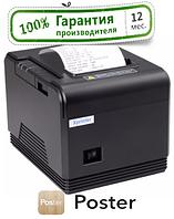 1 год гарантия Чековый принтер Xprinter Q800 / Q300 для Poster Ethernet USB COM авто обрез, фото 1