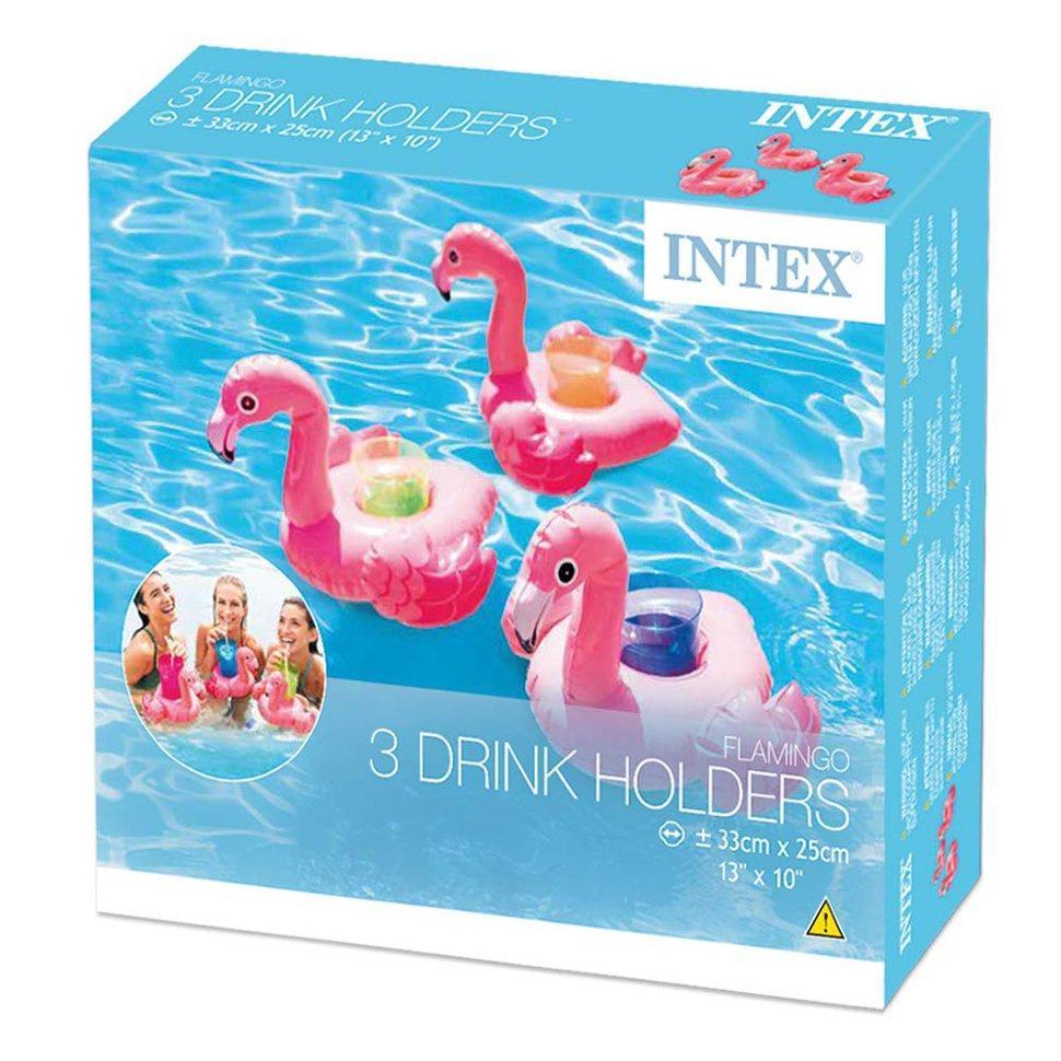 Надувные подстаканники Intex Фламинго (33х25 см, 3 шт)